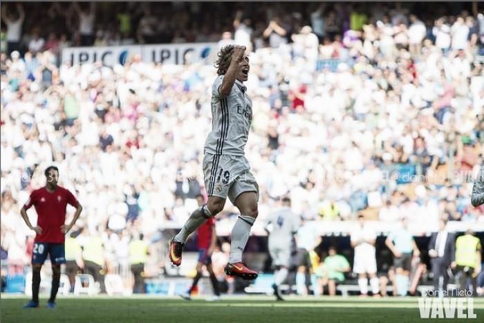 Luka Modric vestirá de blanco hasta 2020