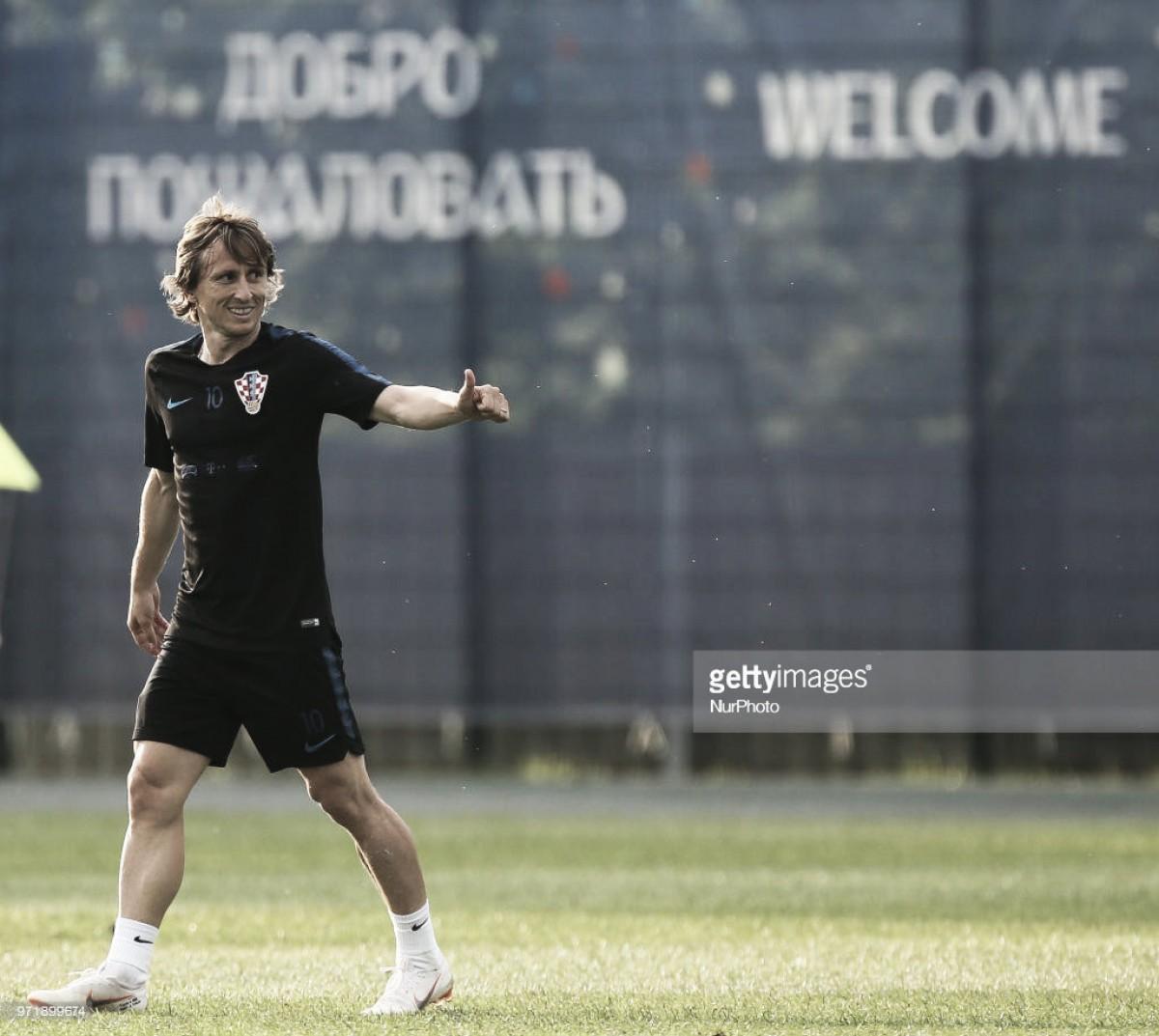 """Luka Modrić: """"Cambiaría mis triunfos con el Madrid por un título con Croacia"""""""