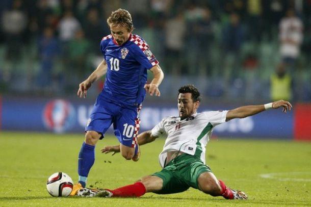 Modric da el susto con Croacia