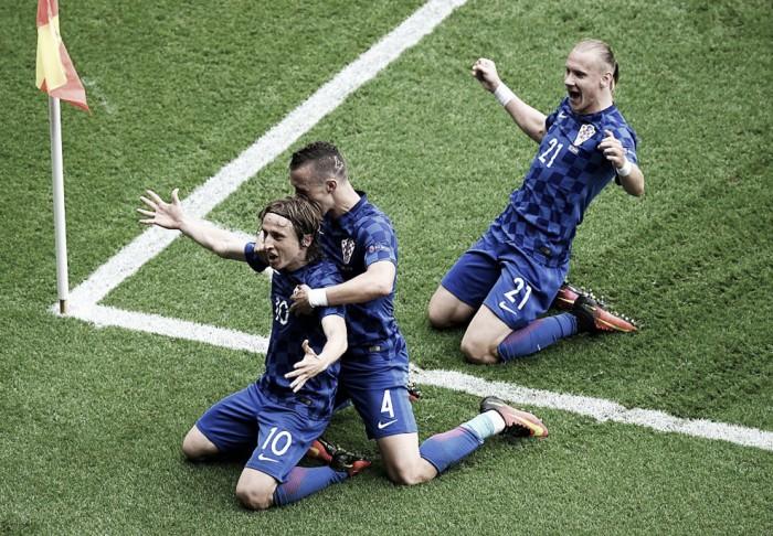 Turkey 0-1 Croatia: Luka Modric wonder-strike leaves topsy-turvy Turkey pointless after opening affair