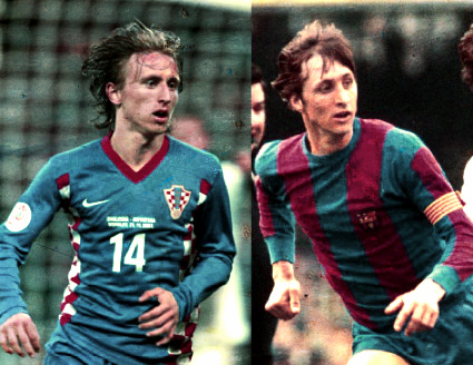 Luka Modric: el Cruyff de los Balcanes