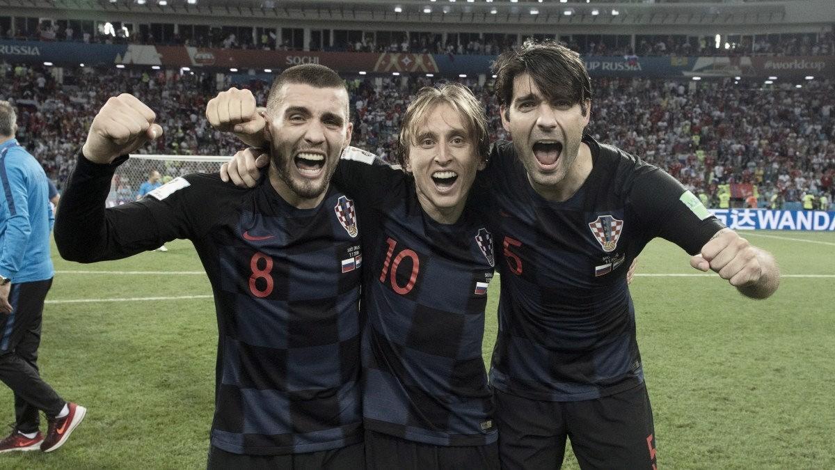 "Modric y Kovacic rumbo a ""semis"""