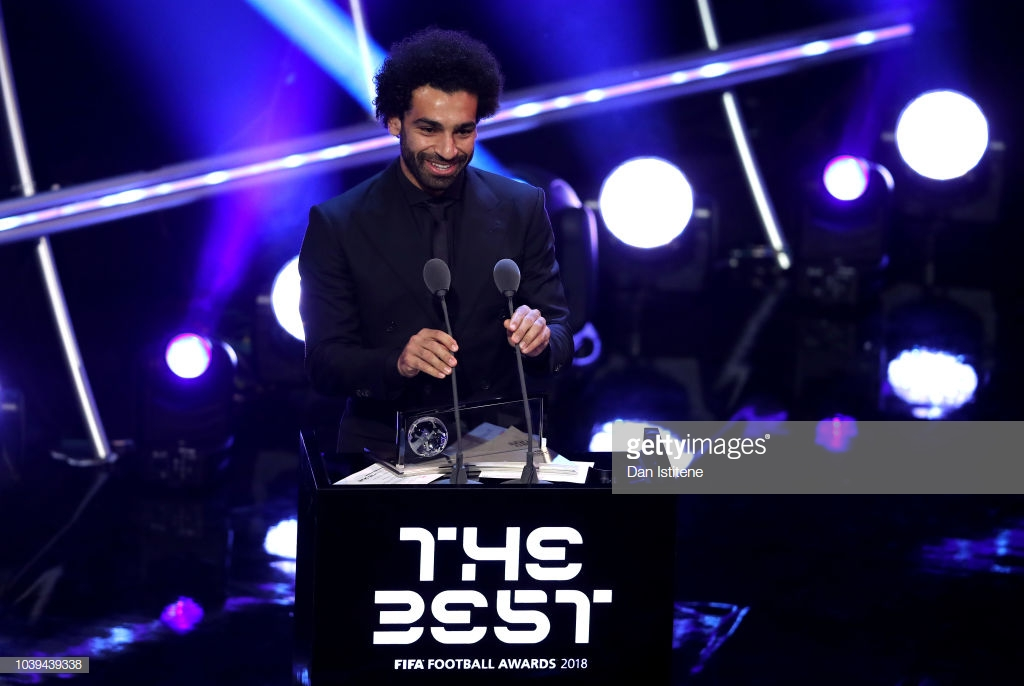 Liverpool's Mohamed Salah beats Lionel Messi to FIFA's Best Player Award final three shortlist