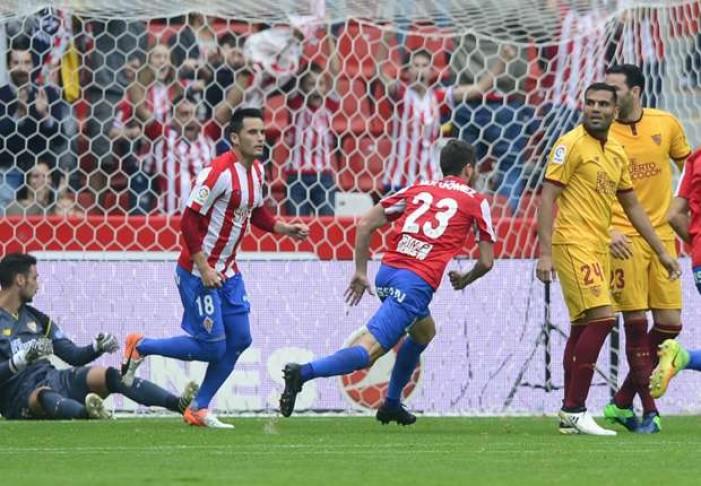 Liga - Il Siviglia sbatte sullo Sporting, è 1-1 a Gijon