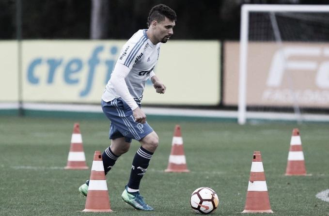 """Moisés minimiza desvantagem do Palmeiras contra o Cruzeiro: """"Temos condições de reverter"""""""