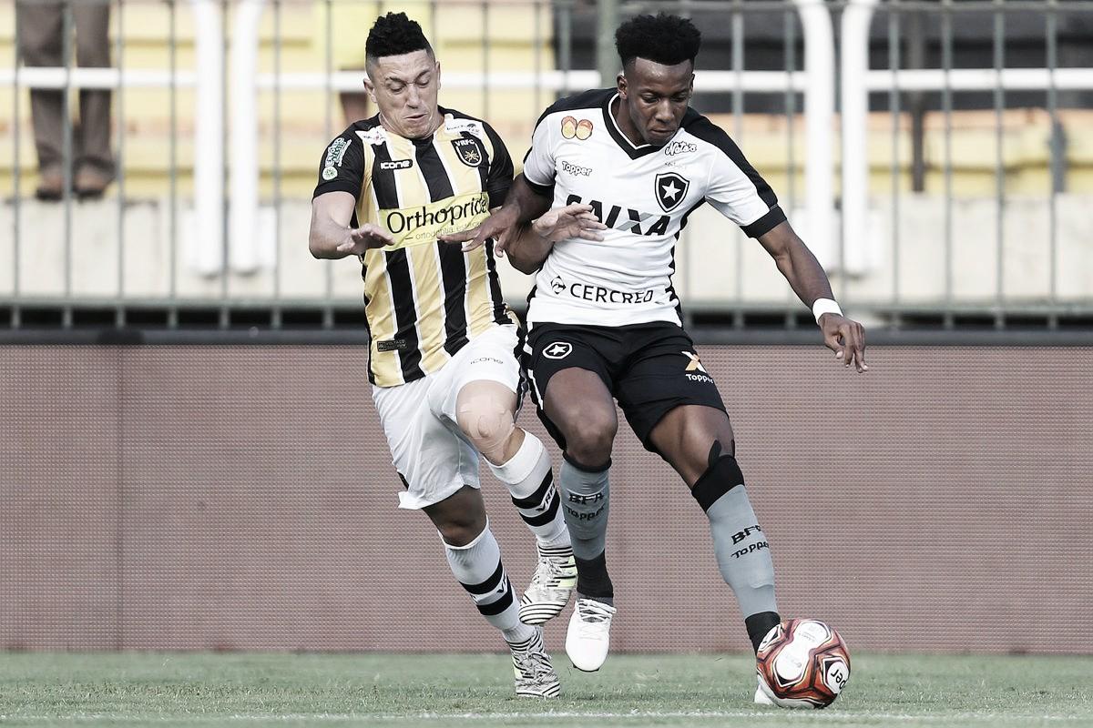 Notas: empate injusto mascara boa atuação do Botafogo; Moisés é destaque individual