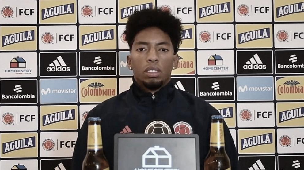 """Johan Mojica: """"Vamos a enfrentar a Brasil para ganarle"""""""