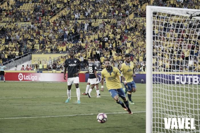 El Málaga vuelve a tropezar