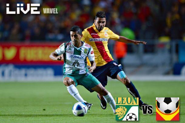 Resultado León - Monarcas Morelia en Liga MX 2014 (4-0)