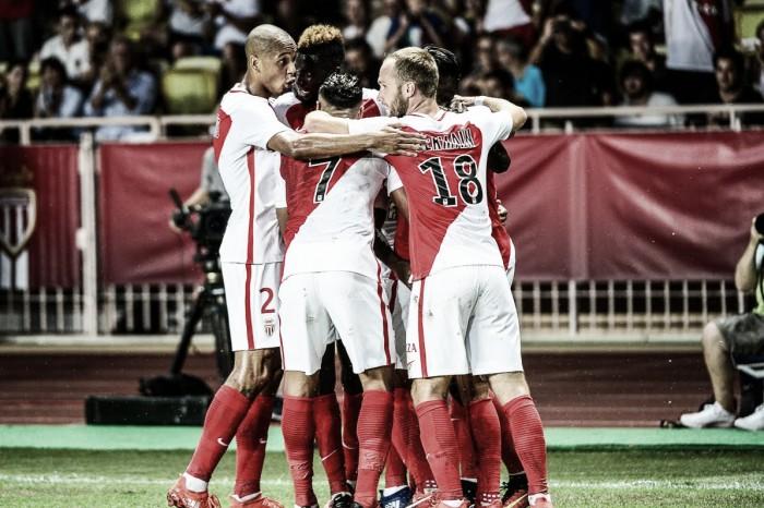 Ligue 1 - Monaco travolgente, Lione di misura sul Bastia. Pareggi per Guingamp e Tolosa