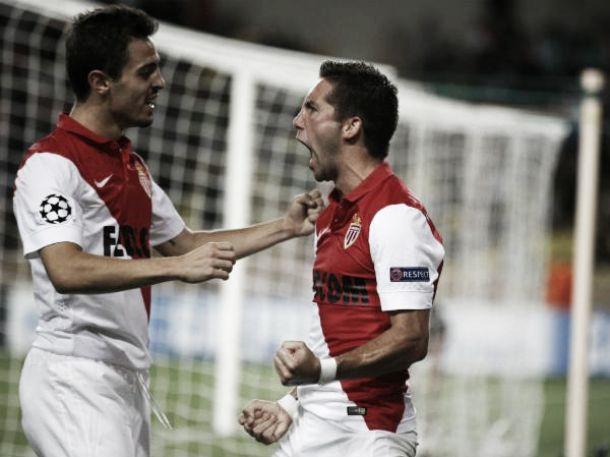Mónaco vence Evian antes da recepção ao Benfica com golo luso