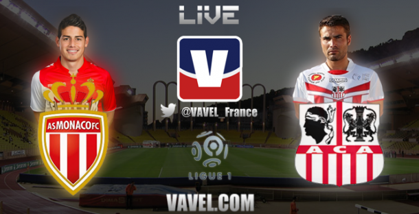 Live Monaco - Ajaccio, le match en direct