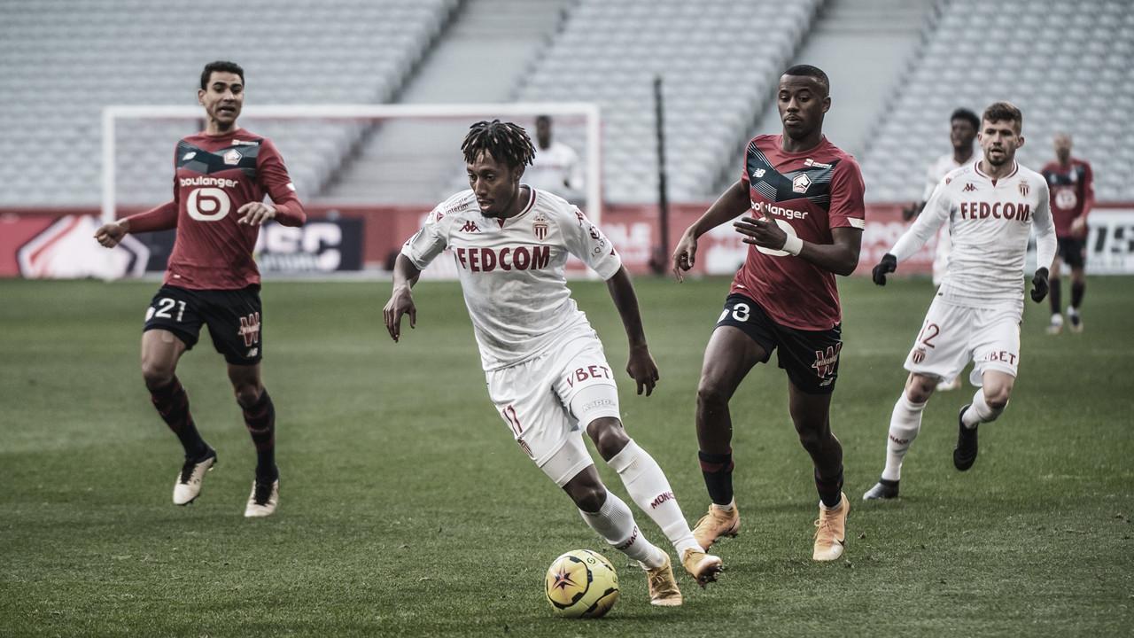 Monaco marca no fim, mas não evita derrota para o Lille em confronto direto