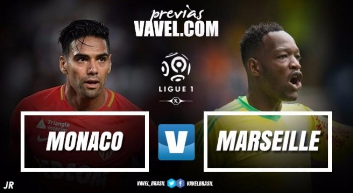 Com Mbappé relacionado, Monaco recebe Olympique de Marsielle pela Ligue 1