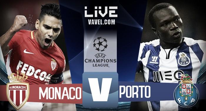 Monaco - Porto LIVE, diretta Champions League 2017-2018: risultato finale 0-3