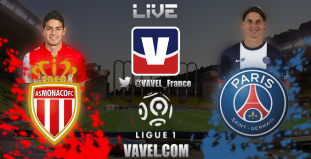 Live : AS Monaco - Paris SG, le match en direct