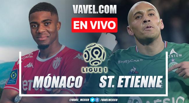 Goles y resumen del Mónaco 3-1 Saint Etienne en Ligue 1 2021
