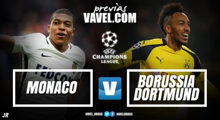 Monaco busca manter vantagem sobre Dortmund e voltar à semifinal 13 anos depois
