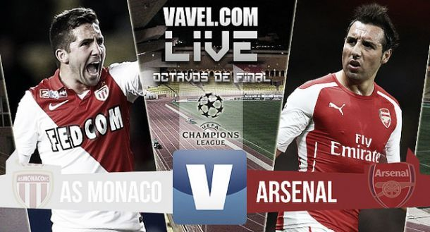 AS Monaco vs Arsenal en direct commenté : suivez le match en live (0-2)