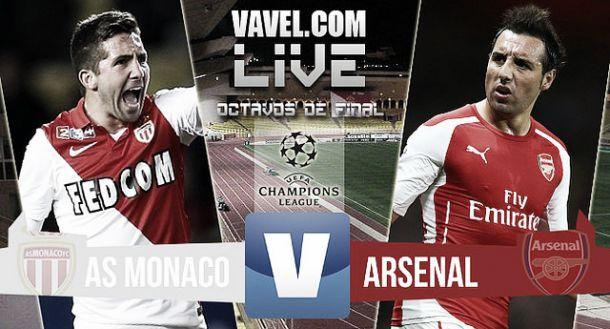 Resultado Mónaco vs Arsenal en vivo (0-2)