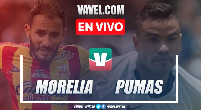 Resumen y video goles Monarcas Morelia 2-0 Pumas en Apertura 2019