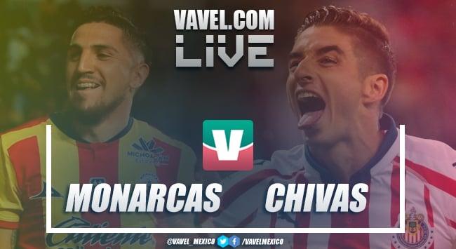 Resumen del Monarcas Morelia 1-0 Chivas de la Liga MX 2019