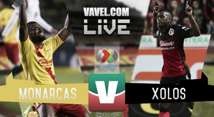 Resultado y goles del Monarcas Morelia 3-0 Xolos Tijuana de la Liga MX 2017