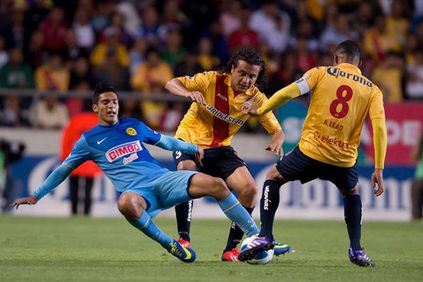 Resultado América - Monarcas Morelia en Liga MX 2014 (3-2)