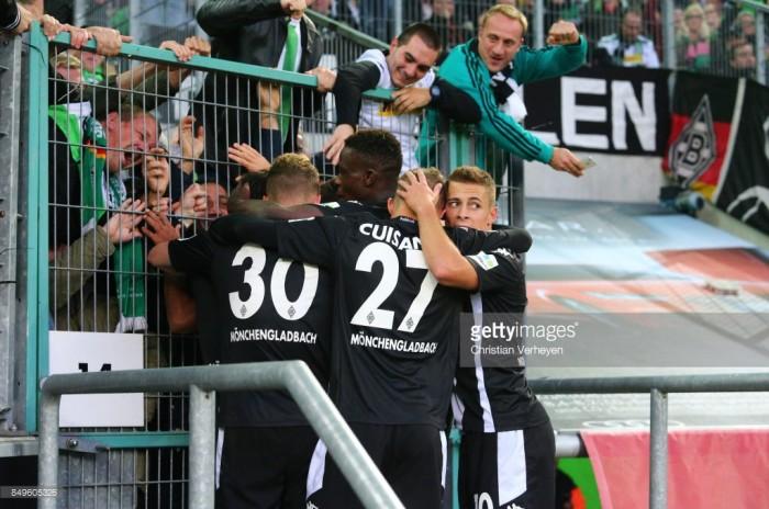 Borussia Mönchengladbach 2-0 VfB Stuttgart: Raffael brace ensures Swabians' away woes continue