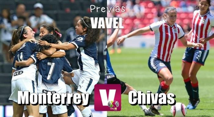 Previa Monterrey - Chivas Femenil: Con la cima en la mira
