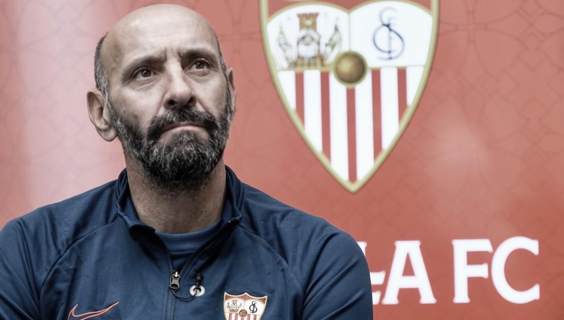 Monchi en su entrevista para Sevilla FC Radio. Foto: sevillafc.es