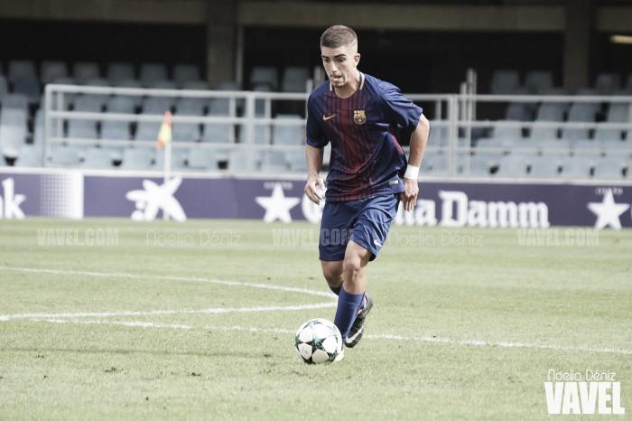 Monchu y su debut con el FC Barcelona B