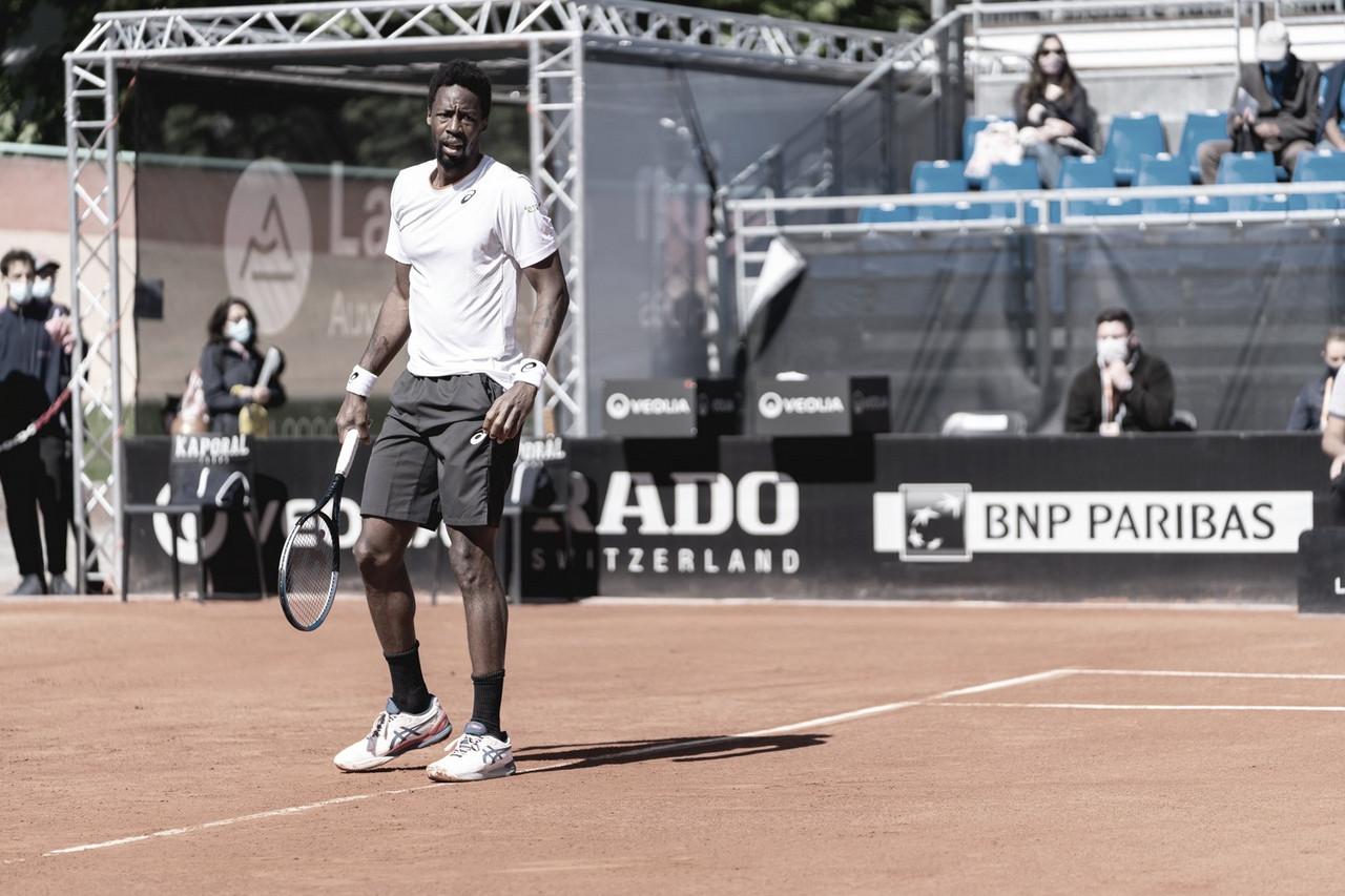 Em casa, Monfils cai para Nishioka nas oitavas de final do ATP 250 de Lyon