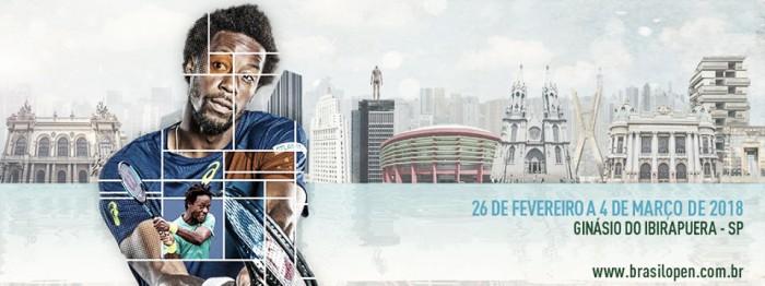 Com Monfils em destaque, Brasil Open divulga lista de inscritos