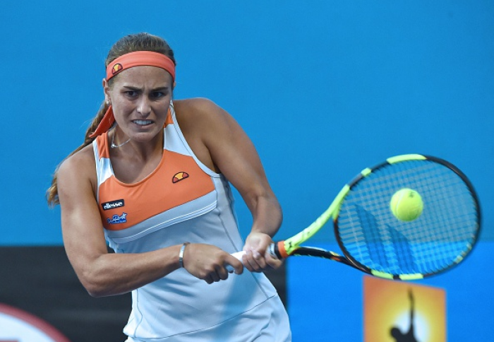 WTA Miami: Monica Puig Recovers From A Set And Break Down, Outlasts Catherine Bellis