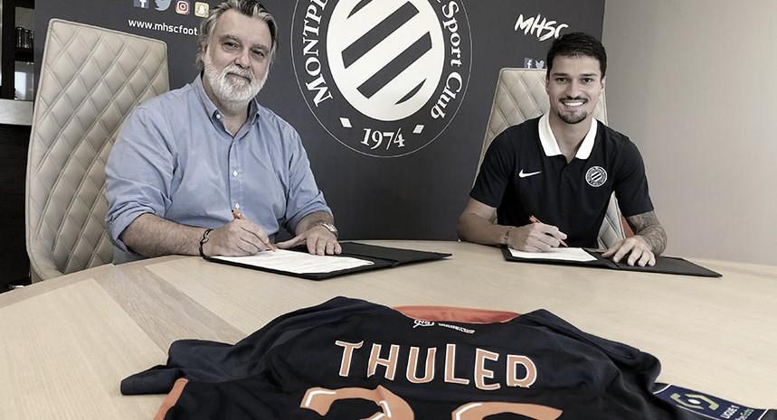 Flamengo oficializa empréstimo do zagueiro Mateus Thuler ao Montpellier