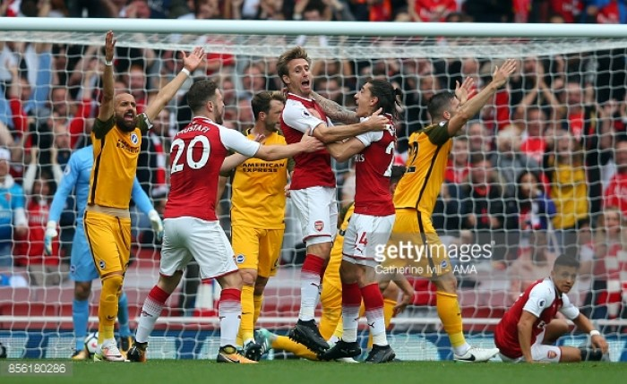 Arsenal 2-0 Brighton and Hove Albion: Lessons learned from The Seagulls' narrow defeat