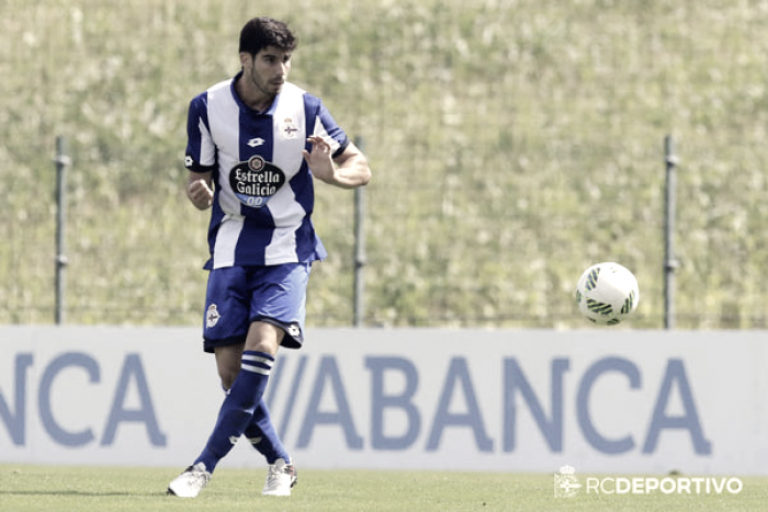 Monsalve debuta en la convocatoria del Deportivo