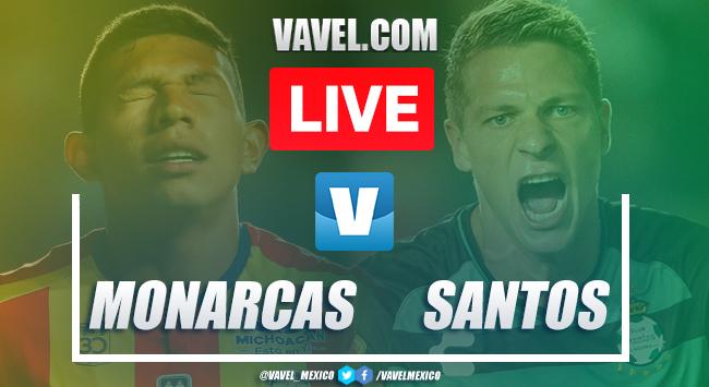 Goals andHighlights:Morelia 2-2 Santos, 2019 Liga MX