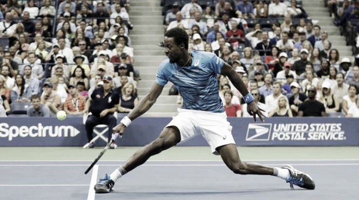 Monfils bate Pouille e avança à semi do Us Open