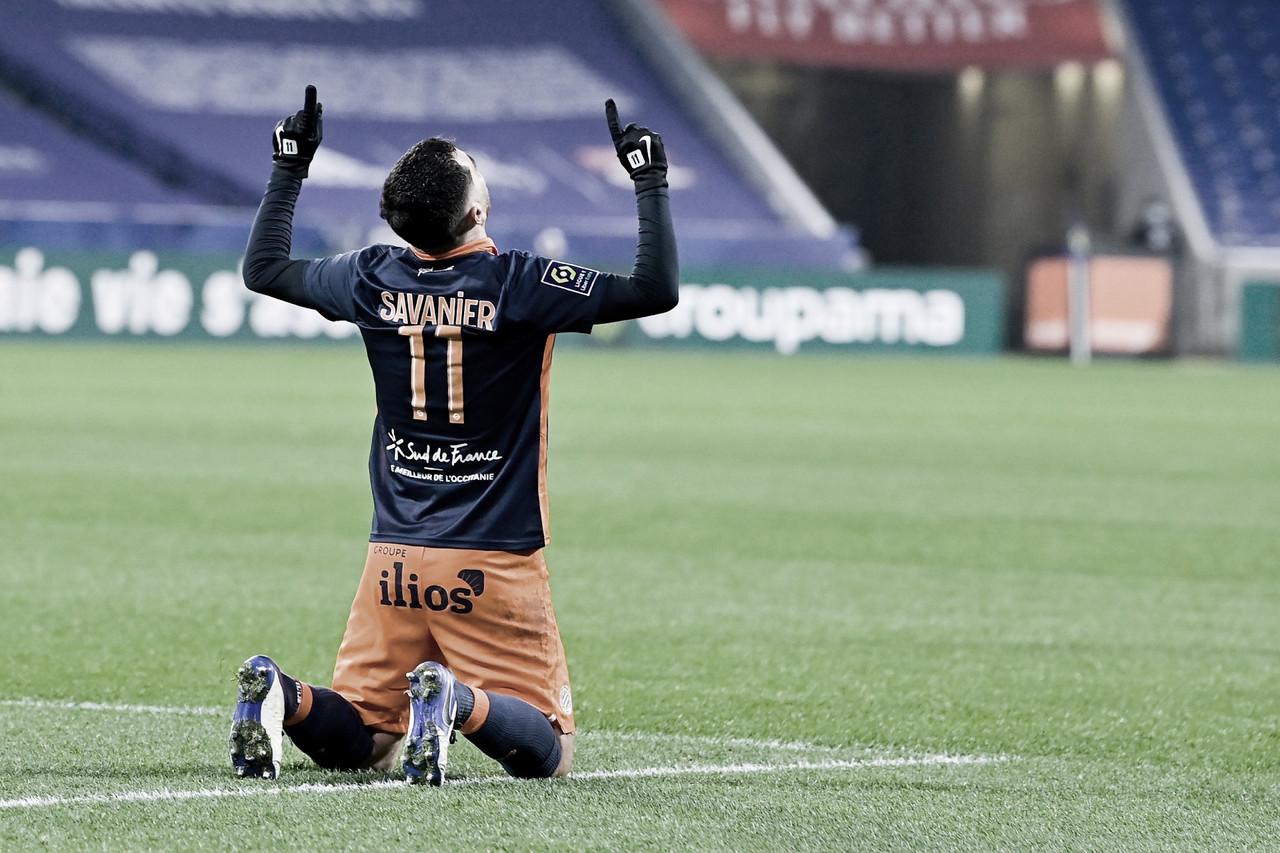 Lyon sofre revés ante Montpellier e perde chance de ser líder na Ligue 1