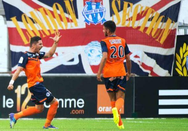 Sorprendente victoria del Montpellier en Marsella