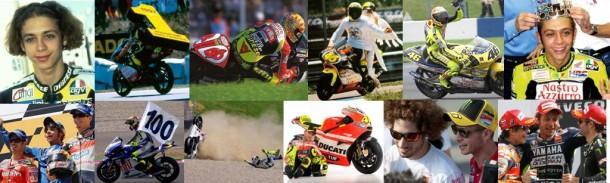 Portrait : Douze moments dans la carrière de Valentino Rossi.
