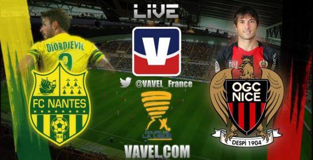 Live FC Nantes - OGC Nice, le match en direct (Coupe de la Ligue)