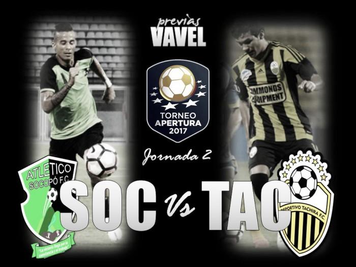 Atlético Socopó - Deportivo Táchira: objetivo, volver a la victoria
