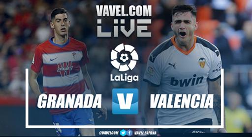 Resumen del Granada 2-2 Valencia La Liga Santander 2020