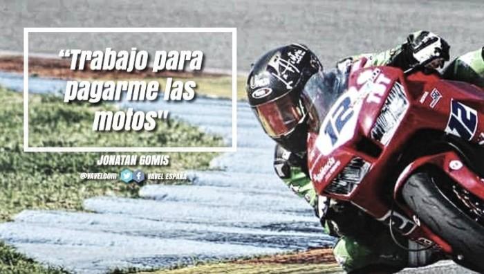 """Entrevista a Jonatan Gomis: """"Trabajo para pagarme las motos"""""""