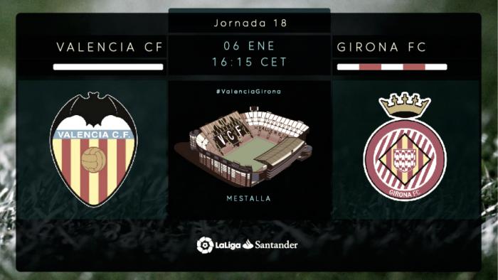 771f8c56d Valencia CF 2-1 Girona FC  Remontada como regalo de Reyes - VAVEL.com