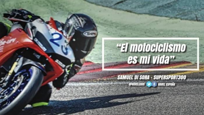 "Entrevista a Samuel Di Sora: ""El motociclismo es mi vida"""