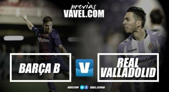 """Previa FC Barcelona """"B"""" - Real Valladolid: Hay que ganar fuera de casa"""